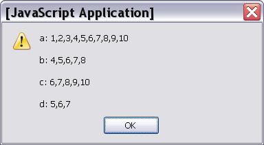 Javascript Using Arrays